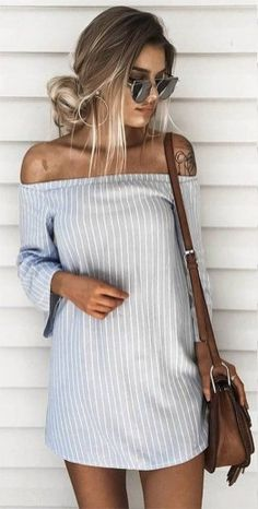 The Best Striped Dress Outfit Ideas For Summer 23
