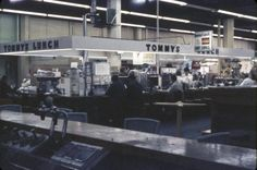 Tommy's Lunch in Pike Place Market, 1969 Pike Place Market, Lunch, Marketing, Places, Lunches, Lugares