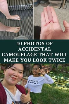 From people's pants blending into the floor to a parrot masquerading as an avocado, you might have to look at the photos with extra care.