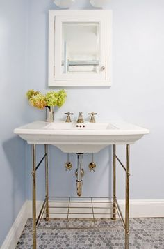 Gramercy Single Metal Washstand Traditional Bathroom Vanities And Sink Consoles