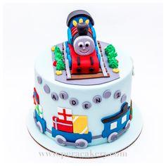 Train cake for a birthday boy