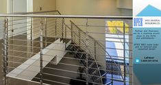 Where our European-trained craftsmen custom manufacture railings, staircases, gates, decks, fences and other custom metal work. Custom Metal Work, Custom Metal Fabrication, Staircase Railings, Staircases, Apex Design, Metal Gates, Metal Projects, Service Design, Canopy