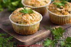 Il Pomodoro Rosso di MAntGra: Muffins salati con trombette e prosciutto