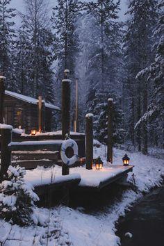 A weekend in Finland's Lakeland - Kali Peters - Winter Fashion Winter Szenen, Winter Cabin, Winter Love, Snow Scenes, Winter Pictures, Winter Beauty, Cabins In The Woods, Helsinki, Belle Photo