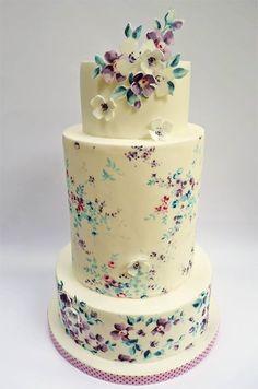 Qué bonita #tarta de