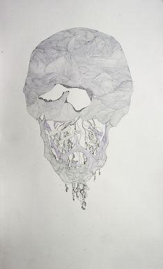 "Saatchi Online Artist: magdalena dukiewicz; Colored Pencils, 2012, Drawing ""c1"""