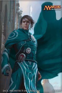 Jace, Architect of Thought - MtG Planeswalker Art