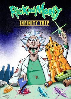 Rick and Morty x Infinity Trip