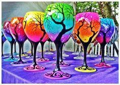 Rainbow & tree