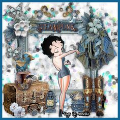 Imagenes Betty Boop, Sweet Betty, Betty Boop Pictures, Diva, Steampunk, Girly, Tags, Friends, Classic