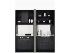 Wooden Kitchen / Laundry Room Cabinet HIDE By Boffi | Design Piero Lissoni
