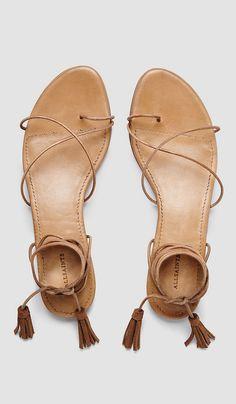 dorica flat sandals