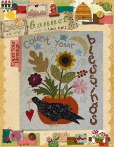 Count Your Blessings by LoriHolt on Etsy