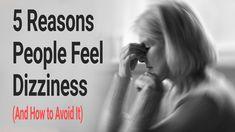 5 Reasons People Feel Dizziness (And How to Avoid It) Reasons For Dizziness, Dizziness Causes, Thyroid Symptoms, Thyroid Disease, Vertigo Relief, Peripheral Nervous System, Feeling Dizzy