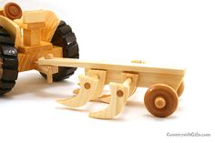 Wooden Antique Farm Tractor Plow