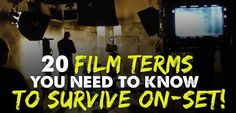 A film set is a wacky place full of nicknames, strange film terms, and abbreviations. There has been many days when someone has asked me to do...