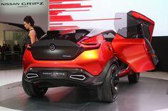 Nissan Gripz Concept foreshadows Z's dark future
