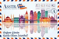 #asstra #transport #logistics Transport Logistics, Postcards, Istanbul, Taj Mahal, Transportation, Travel, America, Viajes, Trips