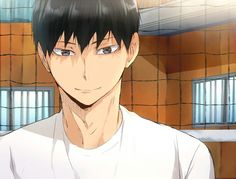 If smiles like this he would be a lady and centleman killer you go kags  :)