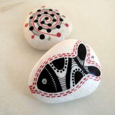 handpainted seastone