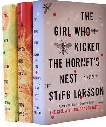 "Stieg Larsson's Millennium Trilogy Bundle: The Girl with the Dragon Tattoo, The Girl Who Played with Fire, The Girl Who Kicked the Hornet's Nest -- Loved this trilogy by Stieg Larsson! Movie adaptations (Sweden & U.S.) did a great job bringing ""Girl with the Dragon Tattoo"" to the big screen. Looking forward to the watching the rest now that I've finished the books."
