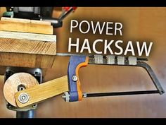 How To Make A Drill Press Hacksaw - YouTube