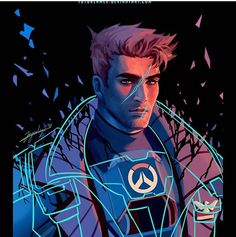""" Second from the series! FOR MOAR FANART Other Overwatch work. Ghosts of the Past: Fallen Leader Overwatch Comic, Overwatch Fan Art, Fanart Overwatch, Solider 76, Jack Morrison, Video Games, The Past, Fandoms, Videos"