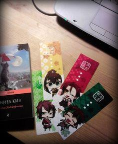 Hakuouki - bookmarks