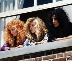 The Witches of Eastwick - pretty curltastic if you ask me.