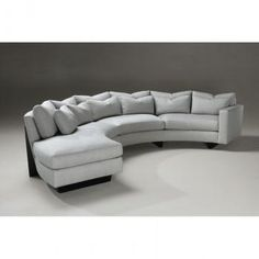Design Bookmark #7193 : This Ultra Modern Sectional Sofa Made Entirely Of  Beautiful White Leather Is A Fashionable And Functional Piece Of Contempou2026