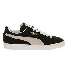 Puma Suede Classic Black White - Unisex Sports d0979f114
