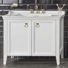 VitrA Valarte 2 Door 100cm Vanity Unit and Basin : UK Bathrooms