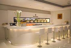Veuve Cliquot Champagne Bar, Harrods by #elementaldesign