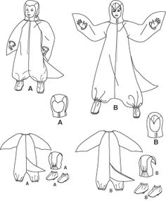 Penguin costume for Lydia Diy Penguin Costume, Panda Costume Diy, Panda Costumes, Diy Costumes, Halloween Costumes, Carnaval Costume, Christmas Program, Suit Pattern, Theatre Costumes