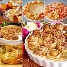 How to DIY Apple Pie of Roses