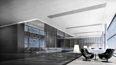 New Jiangwan Office Park Shanghai / China - Pre Function Area