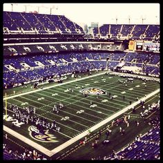 Have watched the Baltimore Ravens play at M&T bank stadium.  Go Ravens!