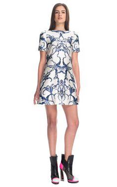 Prabal Gurung Lily Print Shift Dress on Moda Operandi