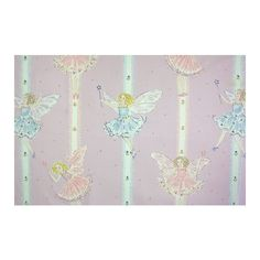 Fairies Fabric ($54) ❤ liked on Polyvore featuring home, home improvement and fabric