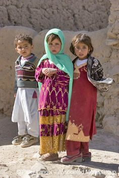 Afghan children in Bamiyan