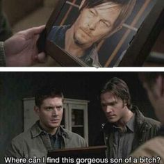 Imagine, if you will, Daryl Dixon and the Winchesters hunting zombies and demons together. Yeah, I'd watch that show.