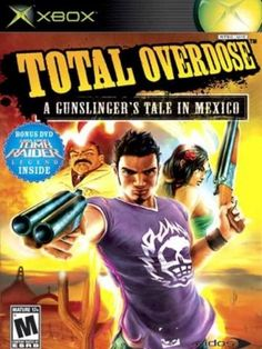"""Total Overdose, greatest crappy game of all time in my opinion.  """"Hurican!"""""""