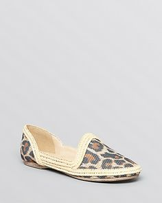 Wild about D'orsay: Eileen Fisher Pointed Toe Espadrille Flats - Motto