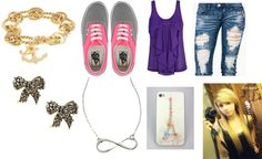 """""""AJ's Goin out"""" by biebsyolo on Polyvore"""