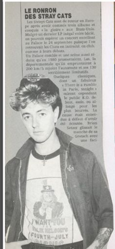 ♫'''STRAY CATS,BRIAN SETZER FRENCH/US CLIPPINGS...☺'''♫ http://www.ebay.com/itm/STRAY-CATS-BRIAN-SETZER-FRENCH-US-CLIPPINGS-/400555457241?pt=LH_DefaultDomain_0&hash=item5d42f73ad9