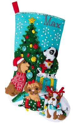 Bucilla Teacher Santa Stocking Kit