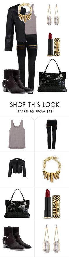 """""""Rock clubbing."""" by crazygirlandproud ❤ liked on Polyvore featuring Rebecca Minkoff, Bao Bao by Issey Miyake, Urban Decay, Yves Saint Laurent, Eddie Borgo, clubbing, rock and clubwear"""