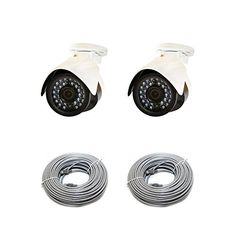Special Offers - LaView LV-KPC2A4 Premium IP 3 MP High Resolution Day and Night Indoor/Outdoor Bullet Security Cameras (White) - In stock & Free Shipping. You can save more money! Check It (September 14 2016 at 01:30AM) >> http://smokealarmusa.net/laview-lv-kpc2a4-premium-ip-3-mp-high-resolution-day-and-night-indooroutdoor-bullet-security-cameras-white/