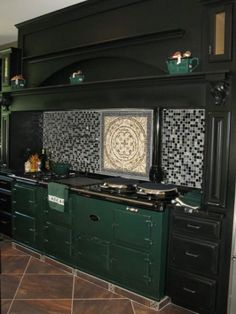AGA Range... my dream (but in the classic red of course :)  )