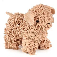 Proggy Rag Rugging Leoni the Puppy #ragrugging #hobbycraft #puppy #craft